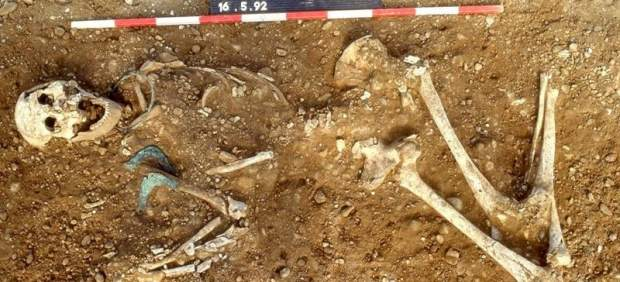 Enterramiento en el valle de Lech, Alemania