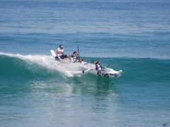 Deporte náutico en San Juan de Luz