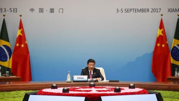 Xi Jinping, en la cumbre de los BRICS