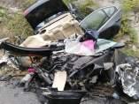 Imagen del accidente en el Twitter del director de la DGT