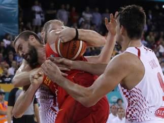 Marc Gasol ante Croacia