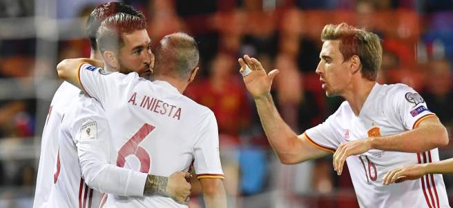 Gol de Ramos con España
