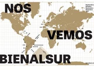 Cartografía de BIENALSUR