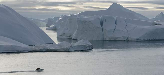 Las consecuencias del cambio climático en el Ártico se visualizan en la muestra