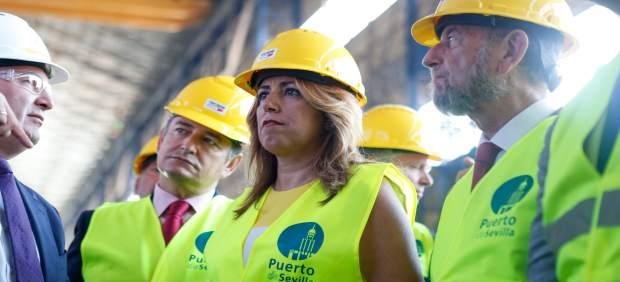 Susana Díaz en el Puerto.