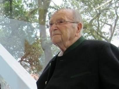 El expresidente Gerardo Fernández Albor