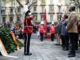 Ofrenda floral a Rafael Casanova