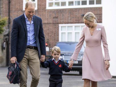 Primer día de escuela del príncipe Jorge