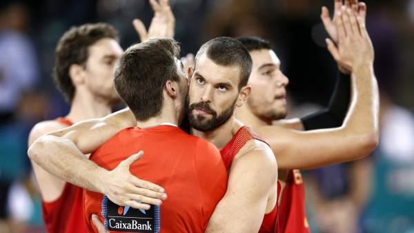 Marc Gasol con España
