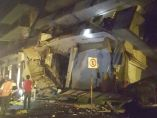 Edificio derrumbado en Oaxaca