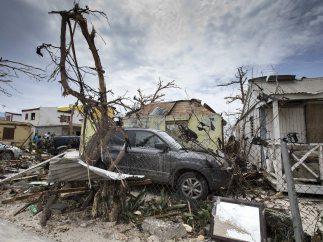 Devastación en San Martín