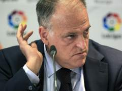 """El Inter de Milán denuncia a Tebas por acusarlo de """"hacer trampas"""""""