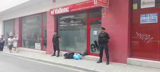 La Guardia Civil registra la sede de El Vallenc en Valls