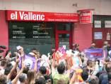 Registros en la sede de 'El Vallenc'