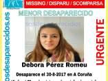 Desaparecida en A Coruña
