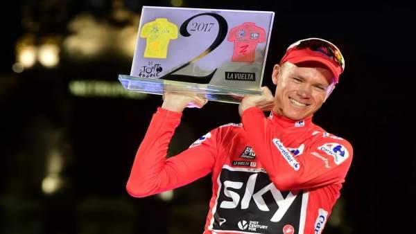 El ciclista británico Froome gana la Vuelta
