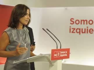Luz Martínez Seijo, secretaria de Educación y Universidades del PSOE.