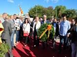 Ofrenda de Josep Fèlix Ballesteros por la Diada en Tarragona