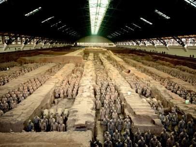 DMAX estrena un documental sobre el ejército de terracota de la China del siglo II a.C.
