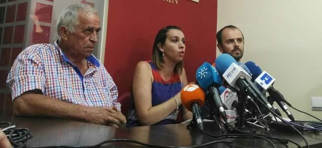 Ana Isabel Ordoñez portavoz familia niña Pizarra