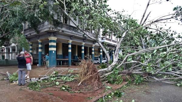 Diez muertos en Cuba tras el paso del huracán Irma