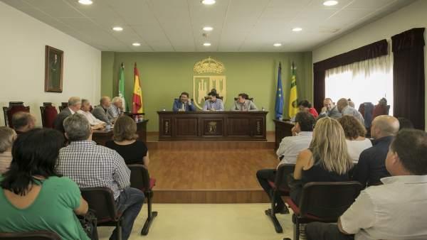 Reunión del consejero con representantes de los GDRs