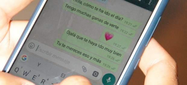 Mensaje en el chat de wasap (WhatsApp)