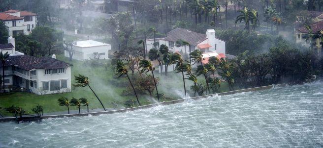La fuerza de Irma en Florida