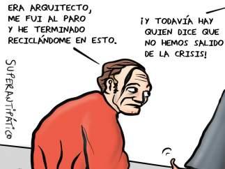 Crisis. La viñeta de Superantipático