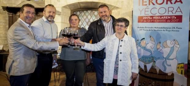 Yécora acoge este domingo la Fiesta de la Vendimia de Rioja Alavesa