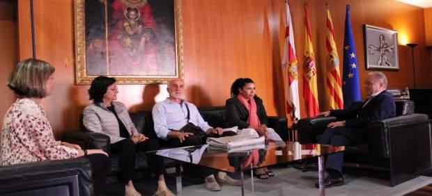 Miembros de la ONG Monegros con Nicaragua han visitado la DPH