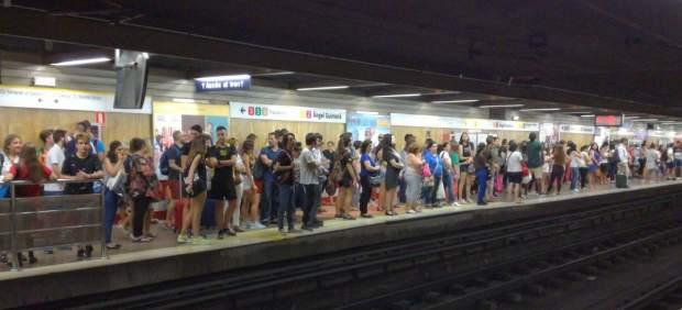 Huelga en el metro de València