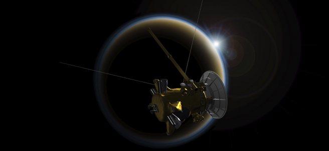 Últimos días de la sonda Cassini