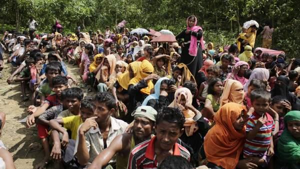 Refugiados rohinyás