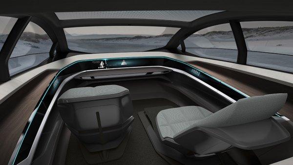 Interior del Audi Aicon concept