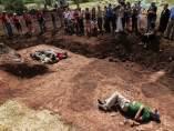 Recientes exhumaciones en Barcones (Soria)