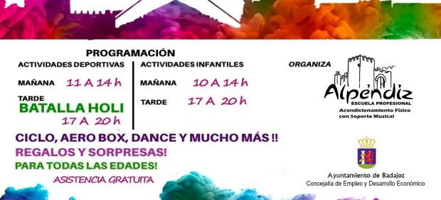 Nota De Prensa Actividad 'Badajoz Fitness Colours'