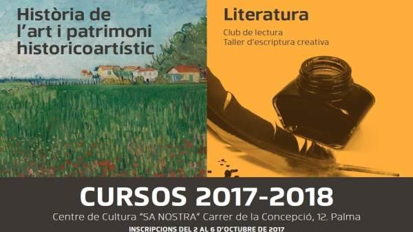 El centro cultural sa nostra oferta cursos de historia del arte literatura m sica y - Sa nostra pisos embargados ...