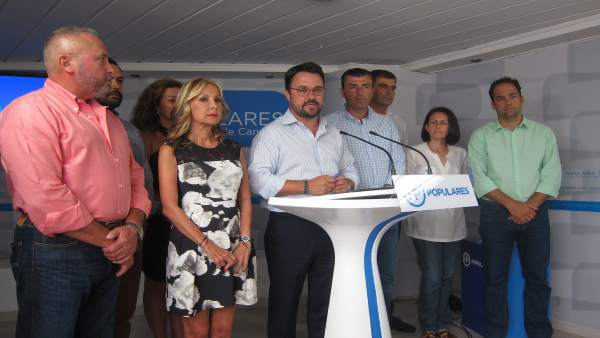 Antona y los presidentes del PP