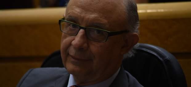 Cristóbal Montoro en el Senado