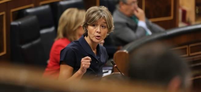 La ministra de Agricultura, Isabel García Tejerina, en el Congreso.