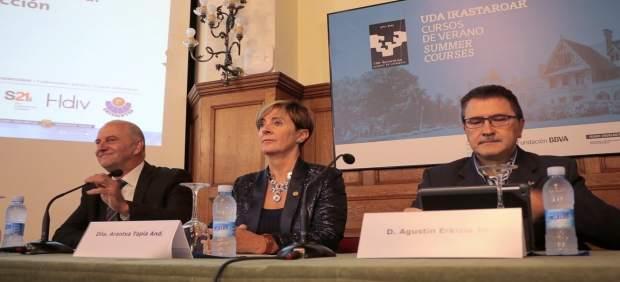 Arantxa Tapia en los Cursos de Verano de la UPV/EHU