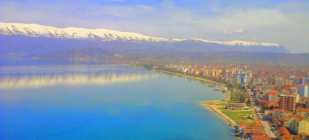Pogradec, en Albania