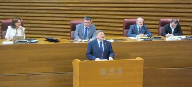 Ximo Puig en el debate de Política  la Comunitat