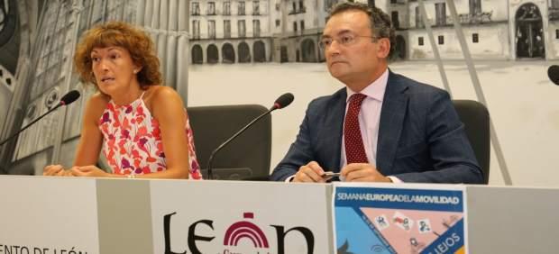 Prensa Aytoleón. Presentación Programa Semana Europea De La Movilidad 2017 (Dípt