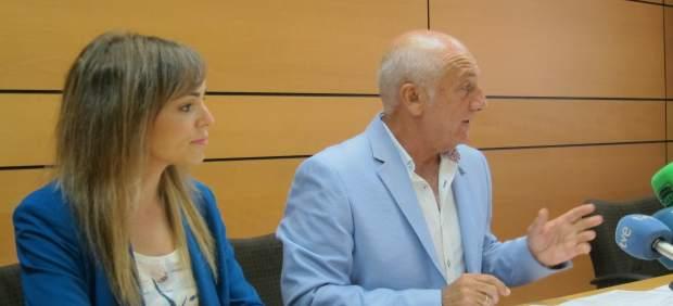 Ortiz y Pérez, en la rueda de prensa