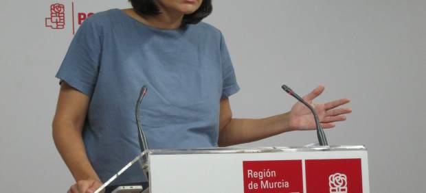 La diputada regional socialista, María González Veracruz