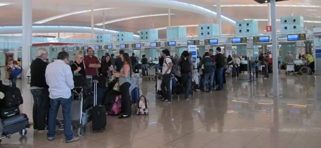 Terminal T1 Aeropuerto de El Prat Barcelona