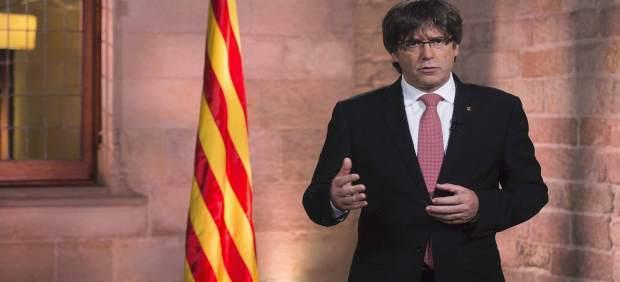 Mensaje institucional del presidente Puigdemont por la Diada