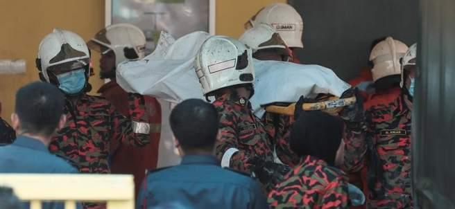 Incendio en una escuela de Malasia